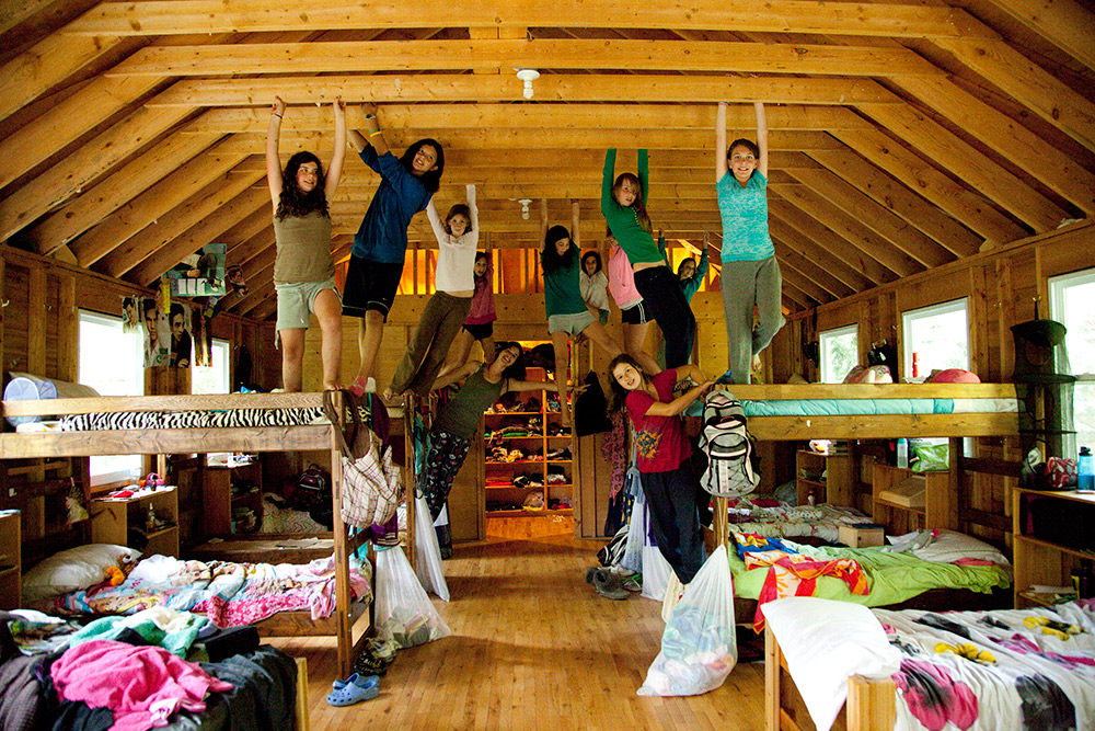 Girls in Cabin