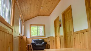 Inside the Gnu Staff Cabin