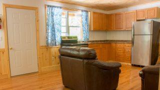 Inside Steph & Anthony's Cabin
